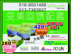 Skinourish Chinese Advertisement