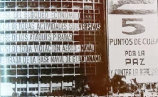 Tα Πέντε σημεία του Φιντέλ (κτίριο στην Πλατεία της Επανάστασης, 1962)