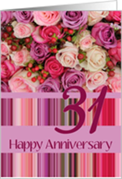 31st Wedding Anniversary Cards from Greeting Card Universe