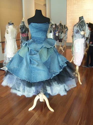 Recycled Denim Gowns