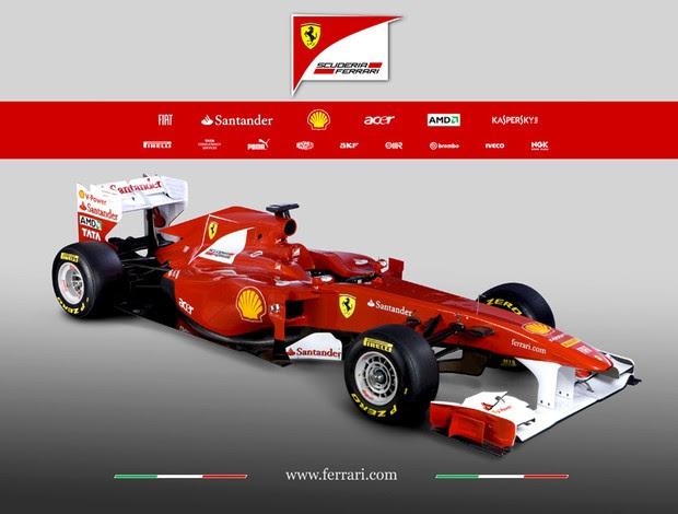 lançamento ferrari f150 temporada 2011