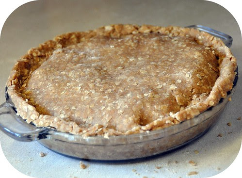 Whole wheat & oatmeal pastry