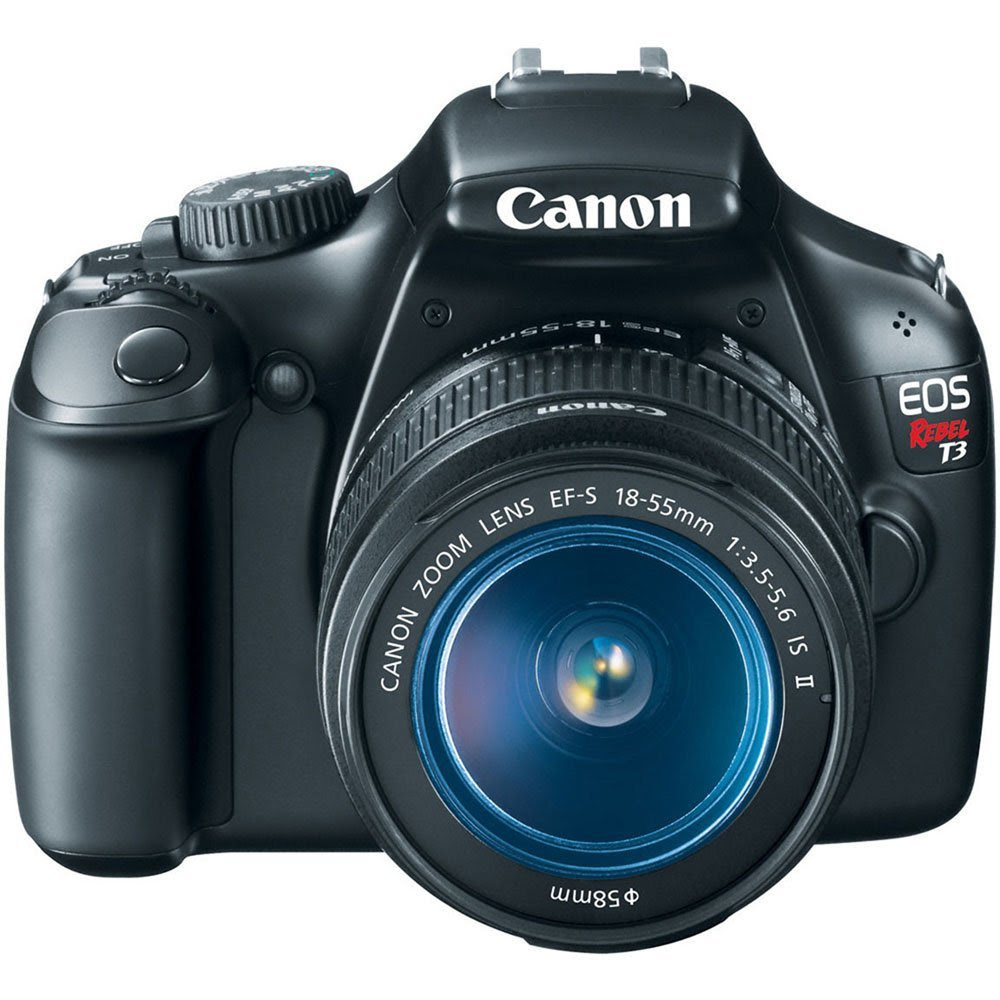 The Best Shopping For You  Canon EOS Rebel T3 12.2 MP CMOS Digital SLR 1855mm Camera