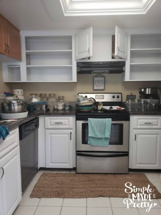 How To Paint Kitchen Cabinets Without Sanding - Simple ...