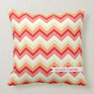 Berrylicious {chevron pattern} Pillow