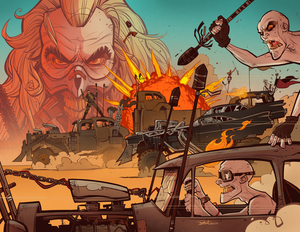 Fury Road by Brett Parson