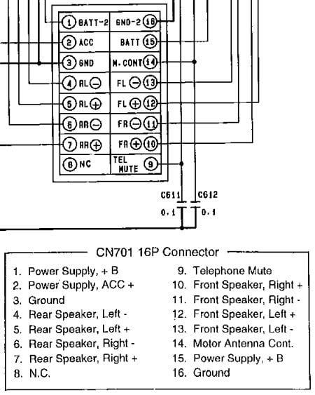 Diagram  Cq Rx100u Car Stereo Wiring Diagram Full Version