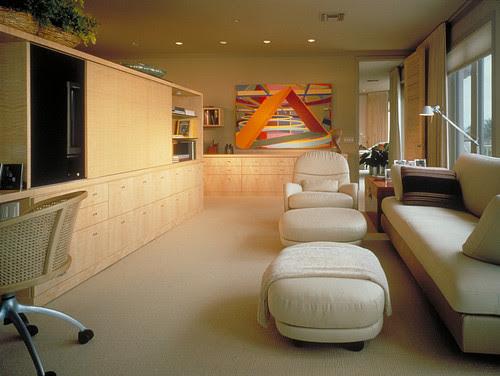Powell/Kleinschmidt. modern family room