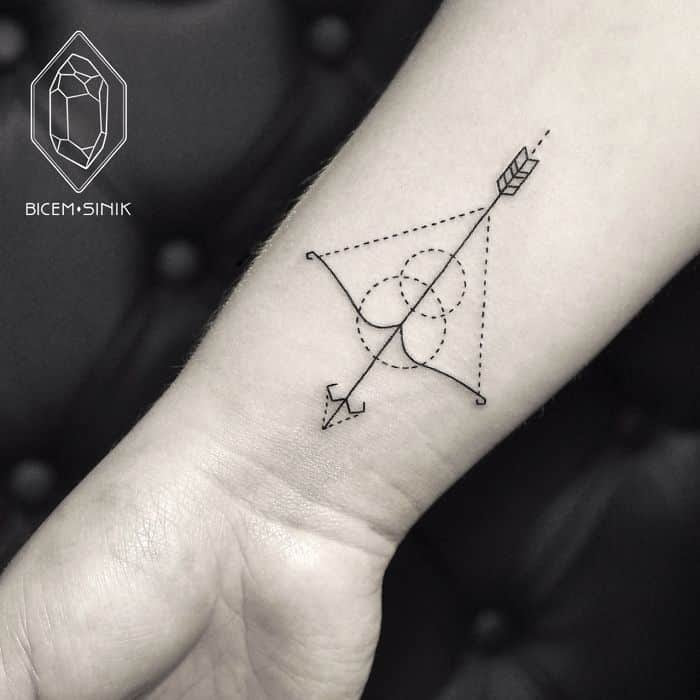 Bow And Arrow Tattoos For Men Ideas And Designs For Guys