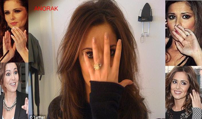 Right now her wedding ring finger is wearing a skull ring as she passes by
