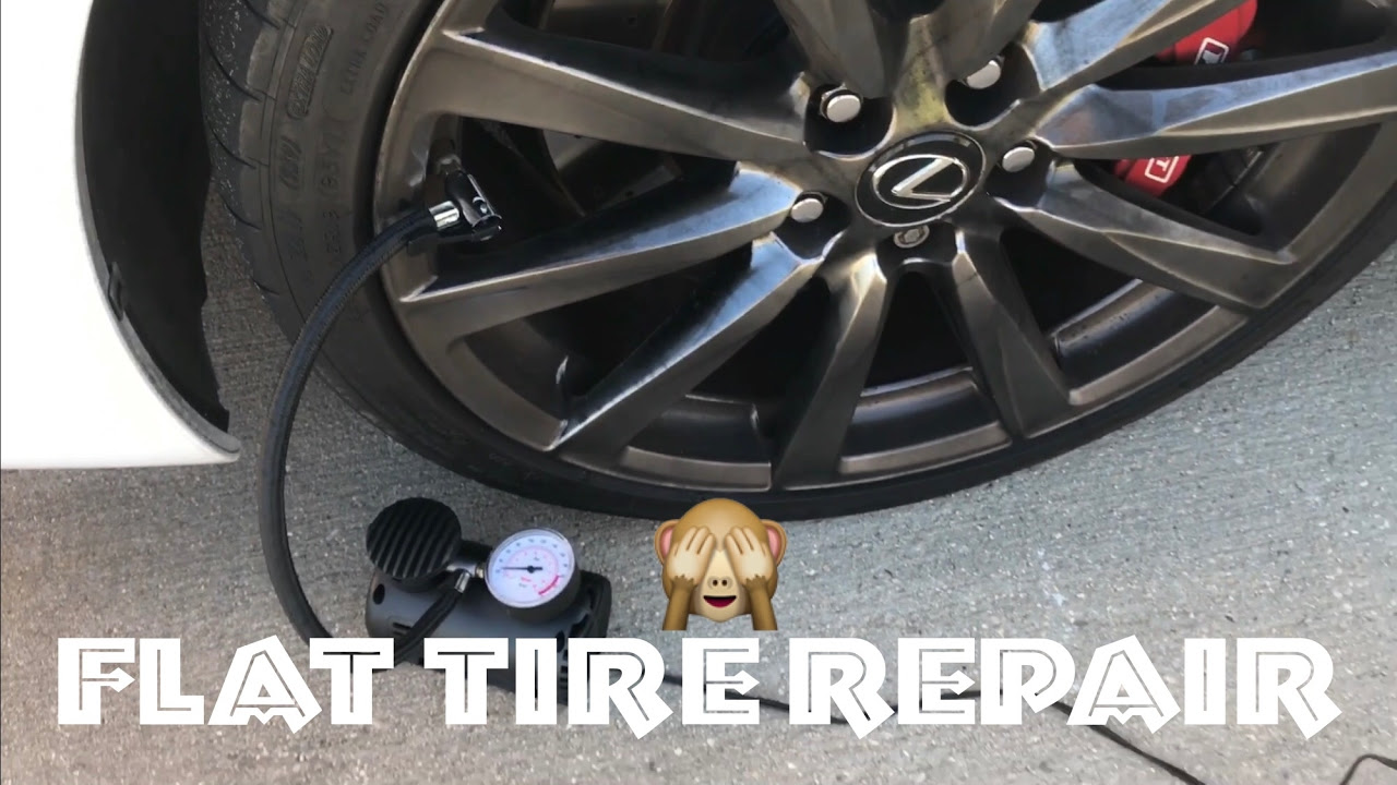 Flat Car Tire Repair Cost Toyota Dealership Repair Shop
