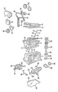 Ford Focus engine diagram - Ford Focus engine Zetec-E 1,8