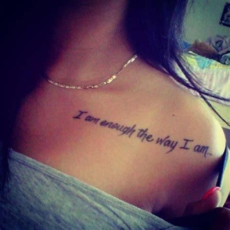 stylish tattoo quotes girls