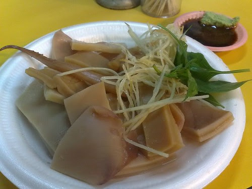 Blanched Hokkaido Squid