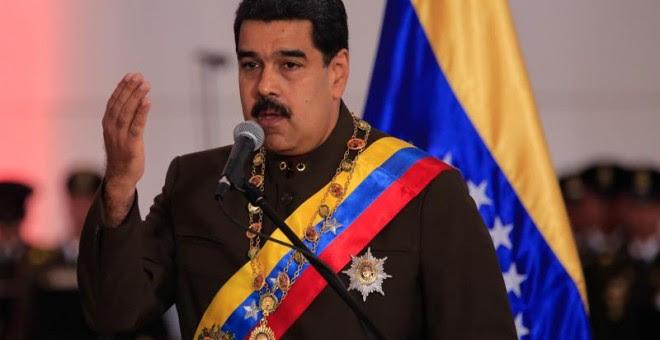 Maduro, hace unos días. EFE