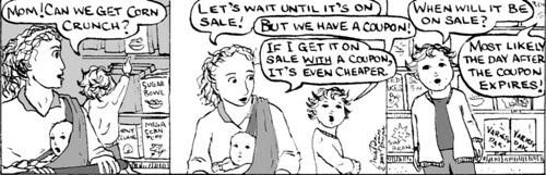 Home Spun comic strip #153