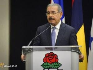 El presidente Danilo Medina. Foto tomada de @DaniloRD2016.