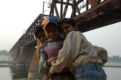 Agra en Inde des enfants