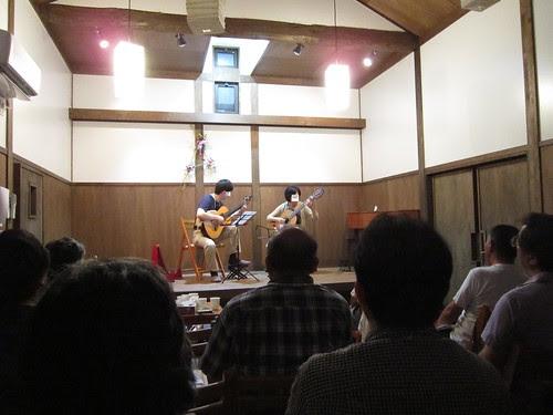 弾き回し練習会風景@夢奏庵 2012年7月14日 by Poran111