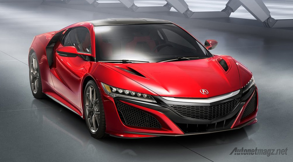 Sportcar Honda All New NSX