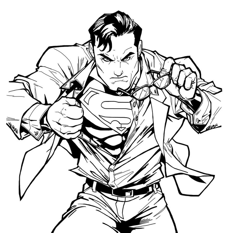 Superman sketch NeMAfro DHINK by DHinking on DeviantArt