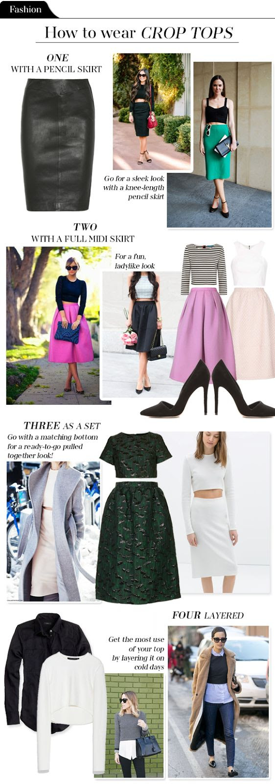 Fashion File: How to wear crop tops - The vault files