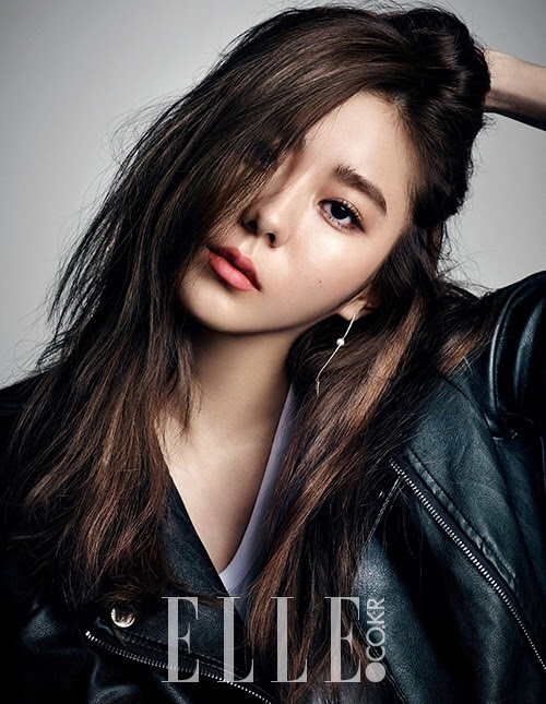 After School's UEE for Elle Korea January 2016. Photographed by Ahn Joo Young