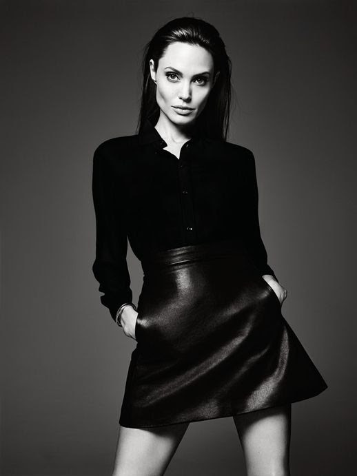 Le Fashion Blog Angelina Jolie Elle Magazine June 2014 By Hedi Slimane Leather Skirt photo Le-Fashion-Blog-Angelina-Jolie-Elle-Magazine-June-2014-By-Hedi-Slimane-Leather-Skirt.jpg