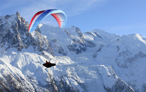 Ozone Rush 3 EN B paraglider