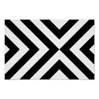 Black and White Chevrons zazzle_print