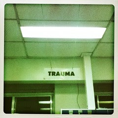 Week 27, 2012: Trauma Duty