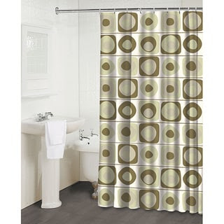 Vintage Squares Pearl' Shower Curtain | Overstock.