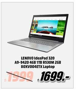 LENOVO IdeaPad 320 A9-9420 4GB 1TB R530M 2GB 80XV004ETX Laptop 1699TL