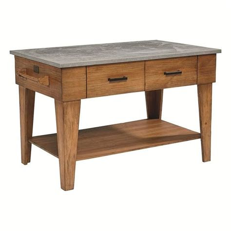 farmhouse kitchen island  bench nebraska furniture