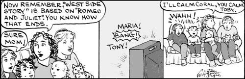 Home Spun comic strip #326