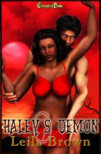Demon Lovers: Haley's Demon by Leila  Brown