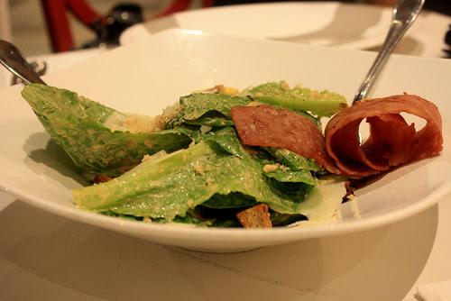 Crab Ceasar Salad