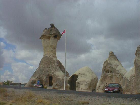 Cappadocia, Turkey: きのこの岩