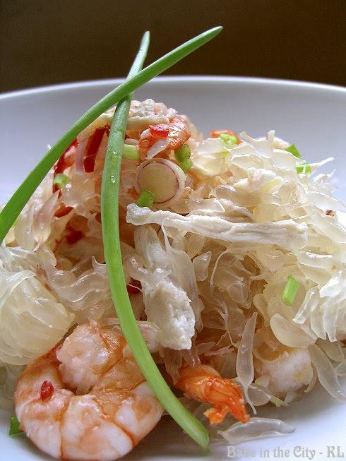 Prawn and Chicken Pomelo Salad