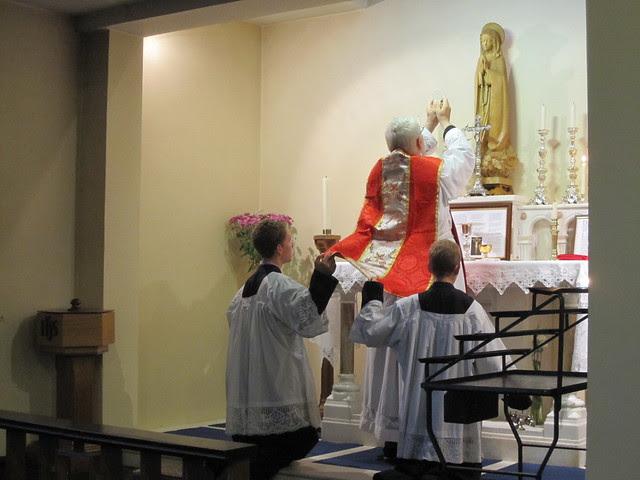 Fr Baumann Visit 09