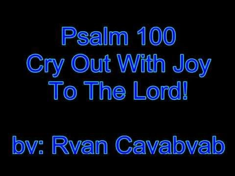 Introit (Psalm 100) ~Cry out to the Lord all the earth by Ryan Cayabyab || Lyrics and Video