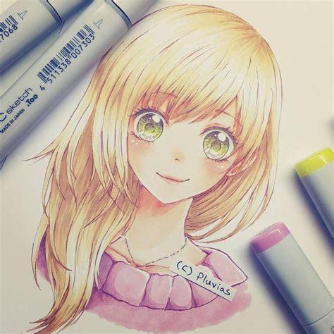 pluvias anime  drawing dessin