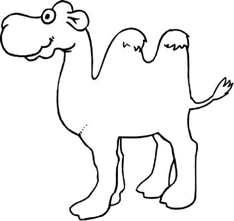 camel coloring pages  students preschool  kindergarten