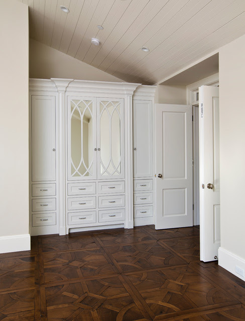 Painted Built in Cabinets - Traditional - Bedroom - san ...