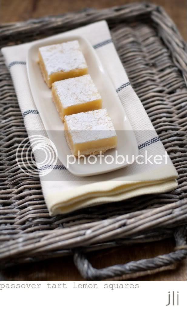 passover tart lemon squares