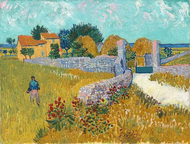 File: Farmhouse em Provence, 1888, Vincent van Gogh, NGA.jpg