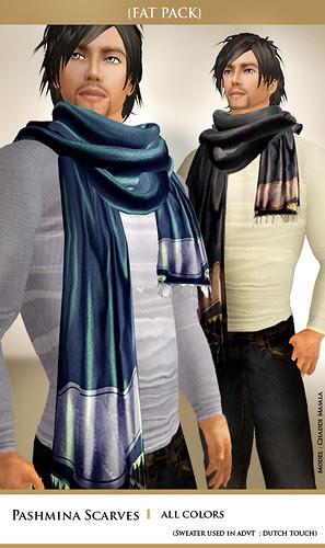 {Zaara} Pashmina scarves for Men!