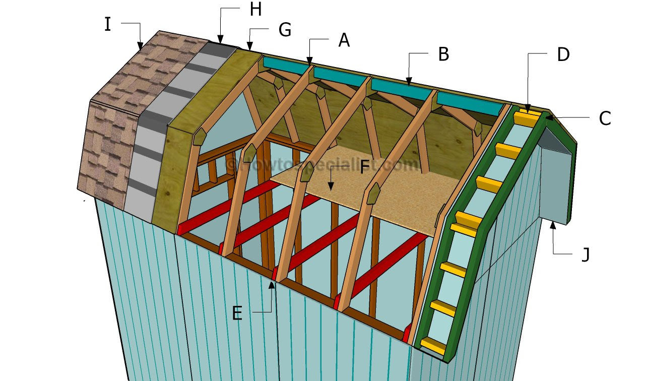 Barn Roof Shed