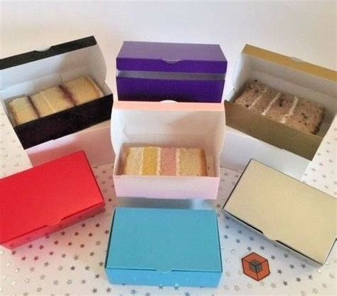 Wedding Party Favours Cake Slice boxes   Various ~ Colours