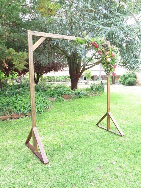 Handcrafted Timber Wedding Arch   Waleska wedding